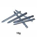 Terra Nova Superlite Titanium V-Angle Pegs - Pack of 6