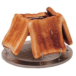 Highlander Highlander Four Slice Folding Toaster