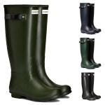 Hunter Womens Norris Field Neoprene Lined Wellington Boots