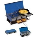 Campingaz  Camping Chef Double Burner Stove With Grill