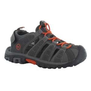Hitec Boys Shore Sandal Grey/Tangelo