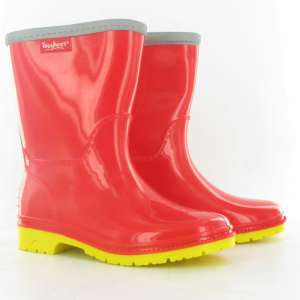 Toughees Kids Wellies Red