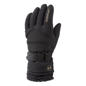 Manbi Rocket Ski Glove Black/Black