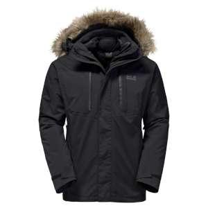 Jack Wolfskin Ross Island Jacket Black