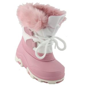 Aquarius Kids Milou Winter Boot Pink/W