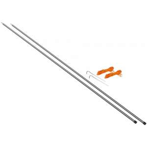 Vango 2x130cm Fiberglass King Poles Bl