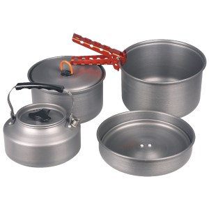 Milicamp 4 Person Hard Anodized Cook G
