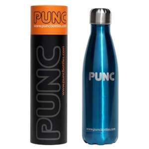 PUNC 500ml Vacuum Bottle Blue