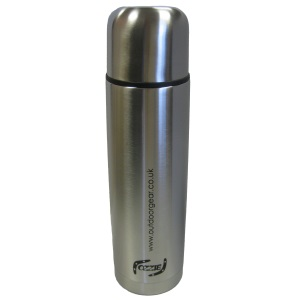 OutdoorGear 1Ltr Vacuum Flask Stainles