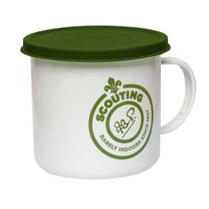 Scouting Scout Mug with Lid White/Gree