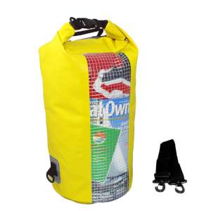 OverBoard 20L Window Dry Tube Yellow