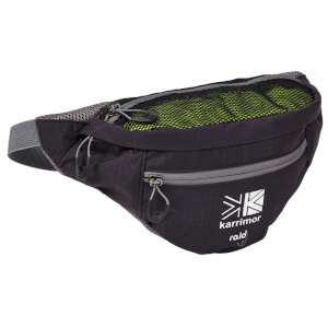 Karrimor Raid 2 Bum Bag Black/Grey