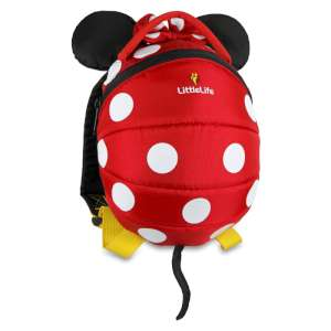 LittleLife Minnie Toddler Daysack Red