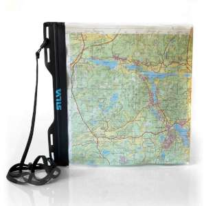 Silva Carry Dry Map Case L Black