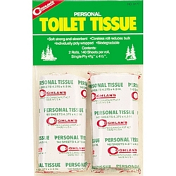 Coghlans Toilet Tissue PK2 Backpackers