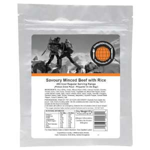 Expedition Foods Minced Beef with Rice