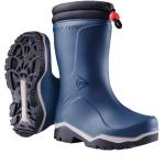 Dunlop Kids Blizzard Warm Wellies Blue