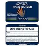 Strider  Hot Pad Hand Warmer (Pack of 2)