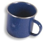 Gelert  Enamel Mug - Blue