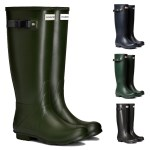 Hunter Womens Norris Field Neoprene Lined Wellington Boots