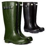 Hunter Men's Norris Field Side Adjustable Neoprene Lined Wellingtons