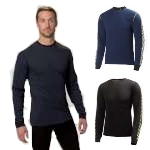 Helly Hansen Mens Lifa Dry Stripe Crew