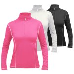 Manbi Women's Zip Neck Supatherm Top