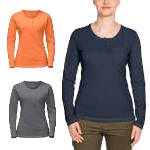Jack Wolfskin Womens Essential Longsleeve Top