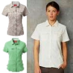 Craghoppers Womens NosiLife Short Sleeved Adventure Shirt
