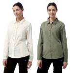 Craghoppers Womens Kiwi Long-Sleeved Shirt