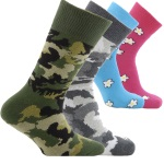 Horizon Kids Outdoor and Leisure Socks - 2 Pack