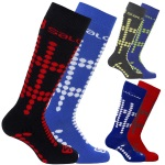 Salomon Team Junior Ski Socks - 2 Pack