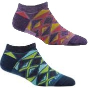 Darn Tough Womens El Sarape No Show Light Socks
