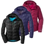 Outdoor Research Womens Sonata Hooded Down Jacket