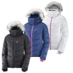 Salomon Womens Icetown Ski Jacket