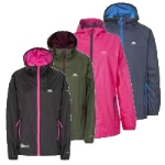 Trespass Womens Qikpac Waterproof Packaway Jacket
