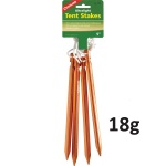 Coghlans Ultralight Tent Stakes - Pack of 4