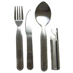 4pc Cultery Set with Can & Bottle Opener