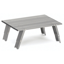 Gelert Backpackers Folding Aluminium Table