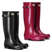 Hunter Field Gloss Wellington Boots
