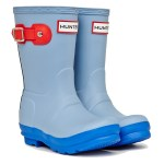 Hunter Kids Original Contrast Sole Wellington Boots
