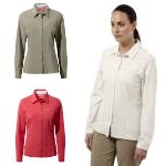 Craghoppers Womens NosiLife Pro Long Sleeved Shirt
