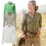 Craghoppers Womens NosiLife Adventure Long Sleeved Shirt