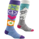 Darn Tough Womens Over-the-Calf Cushion Ski Socks