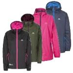 Trespass Womens Qikpac Waterproof Packaway Jacket