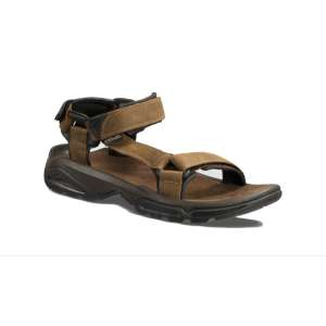 Teva Terra FI 4 Leather Sandals Bison
