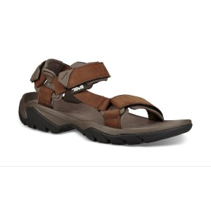 Teva Terra FI 4 Leather Sandals Carafe