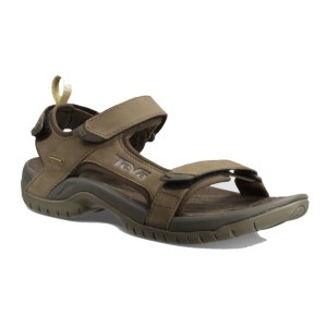 Teva Tanza Leather Sandal Brown