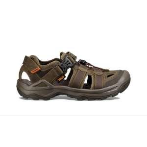 Teva Omnium 2 Leather Sandal Dark Oliv