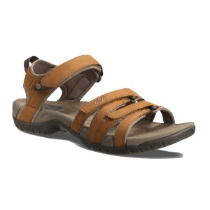 Teva Women's Tirra Leather Sandal Rust